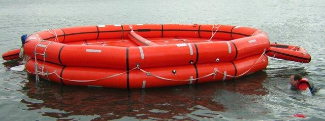 Sisl radeau de sauvetage - Canot pneumatique gonflable ...